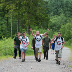 Filshill Staff On Their Big Walk for Charity