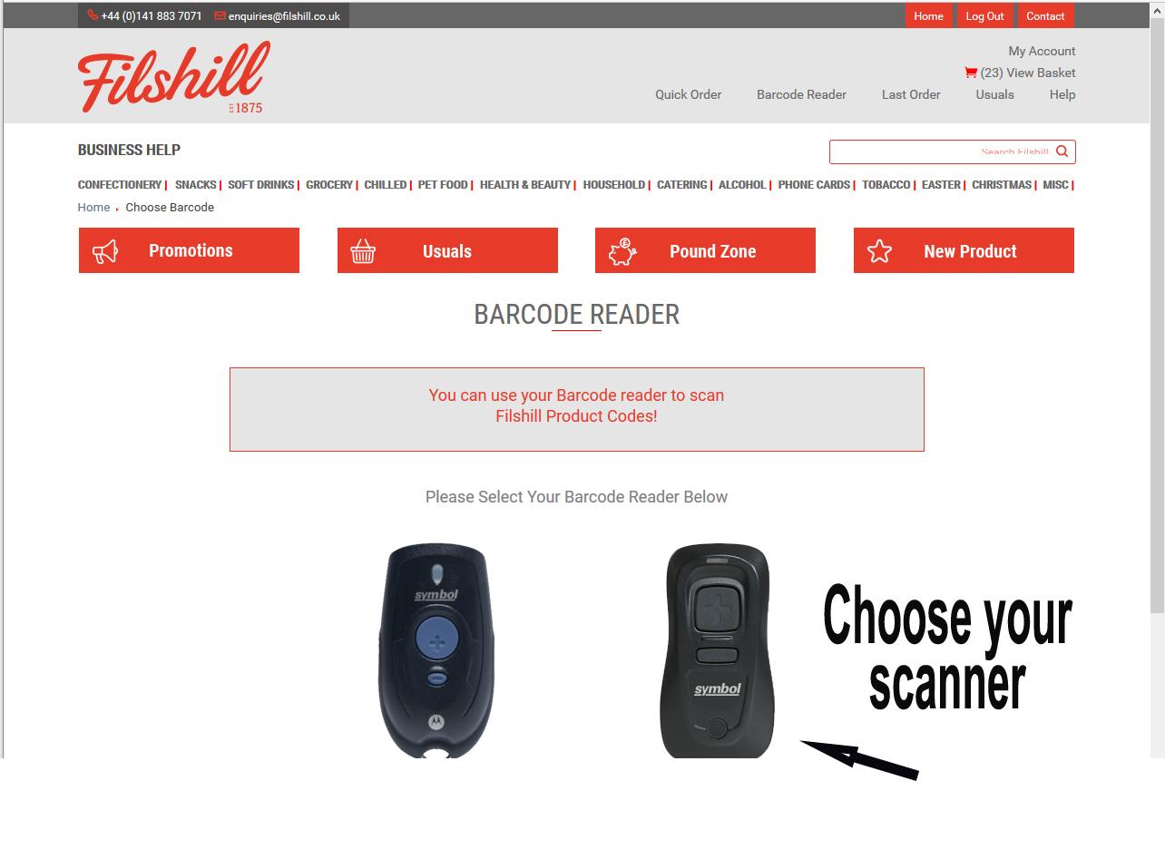 choosescanner